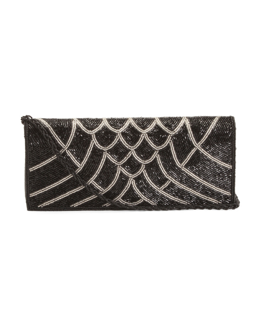 Myabella Beaded Clutch