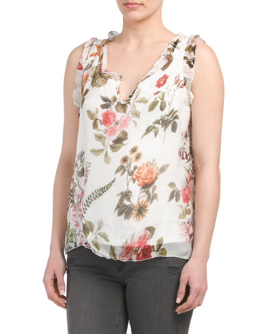 Made In Italy Floral Top