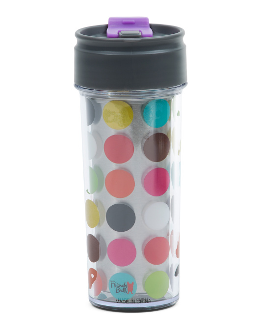 14oz Multi Dot Travel Mug