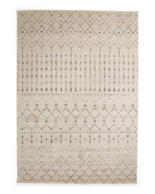 Made In Turkey Moroccan Trellis Rug