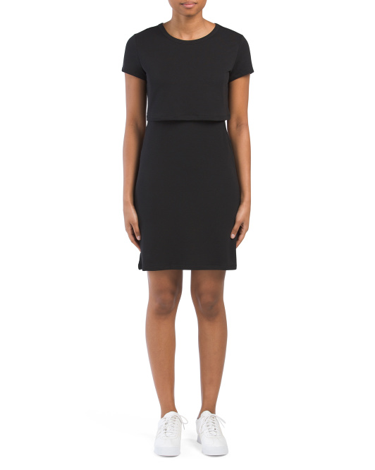 Popover Side Cut Out Dress