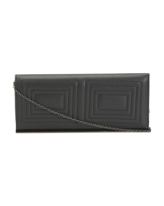 Quilted Convertible  Clutch