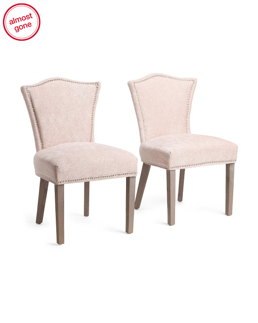 Set Of 2 Hypnotic Dining Chairs