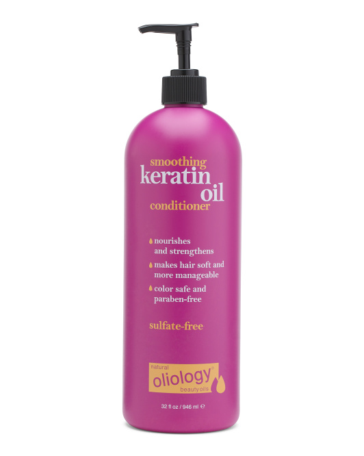 Smoothing Conditioner With Keratin Oil