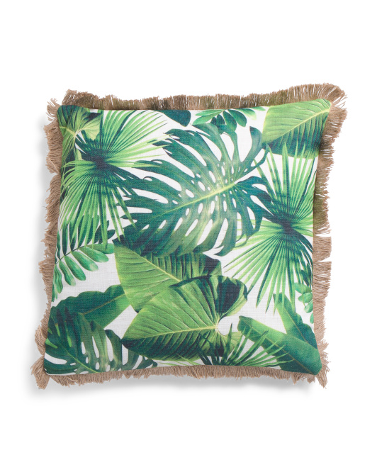 20x20 Rainforest Pillow