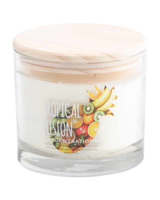 26oz Tropical Fusion Candle
