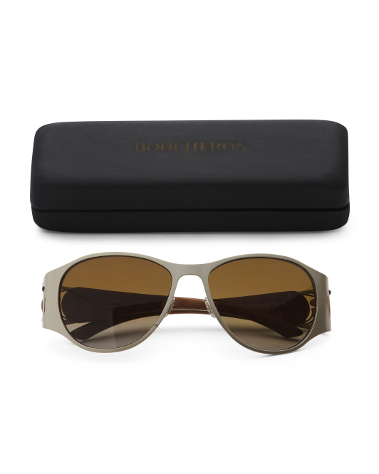 Made In Luxembourg Luxury Sunglasses With Case