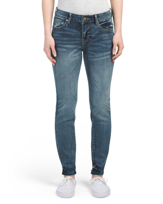 Juniors High Rise Skinny Jeans