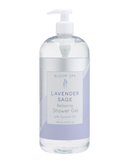 Lavender Sage Relaxing Shower Gel