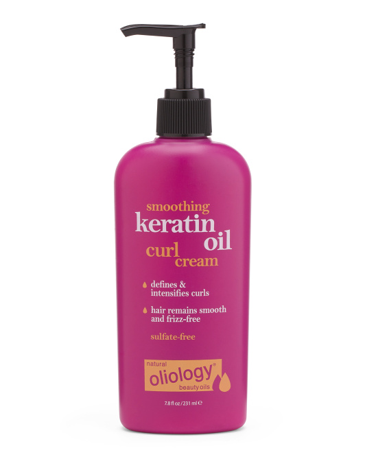 Smoothing Keratin Oil Curl Cream