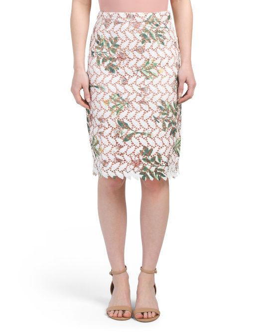 Guipere Lace Skirt