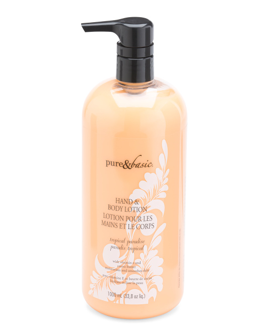 Tropical Paradise Classic Lotion