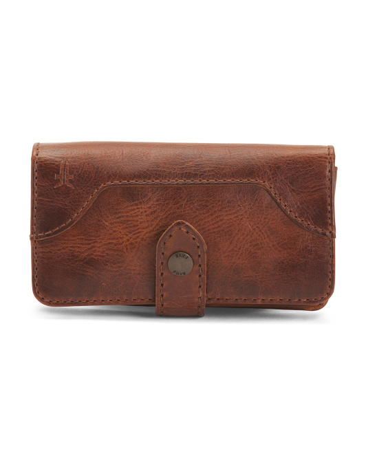 Leather Melissa Phone Wallet