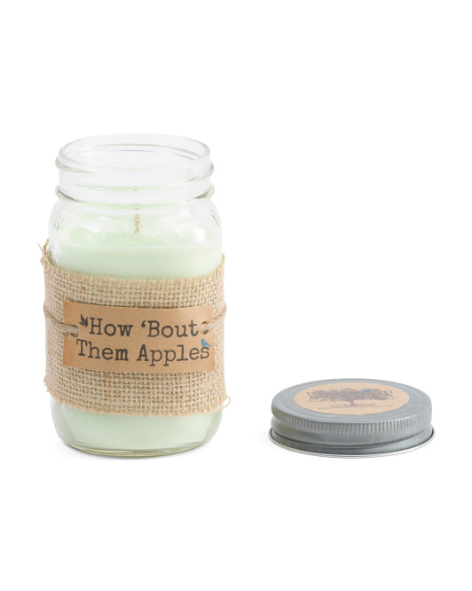 Made In Usa 16oz Apples Soy Candle