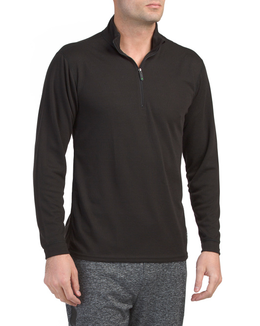 Micro H2 Zip Baselayer Top