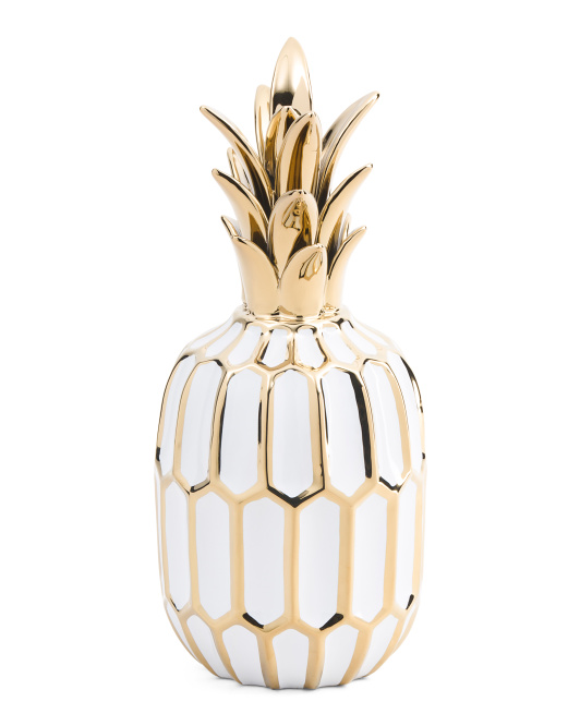Ceramic Pineapple Decor