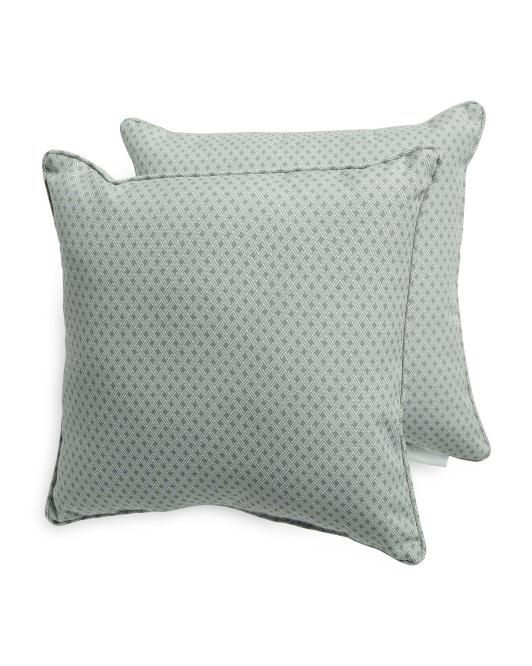 2pk 18x18 Indoor Outdoor Pillow