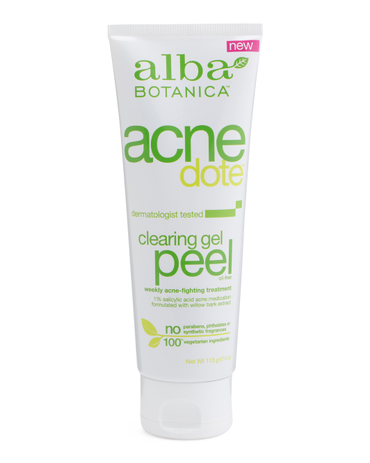 Acnedote Natural Clearing Gel Peel