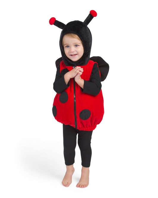 Baby Ladybug Plush Bubble Costume