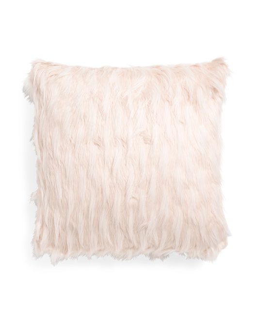 22x22 Indiana Fur Pillow