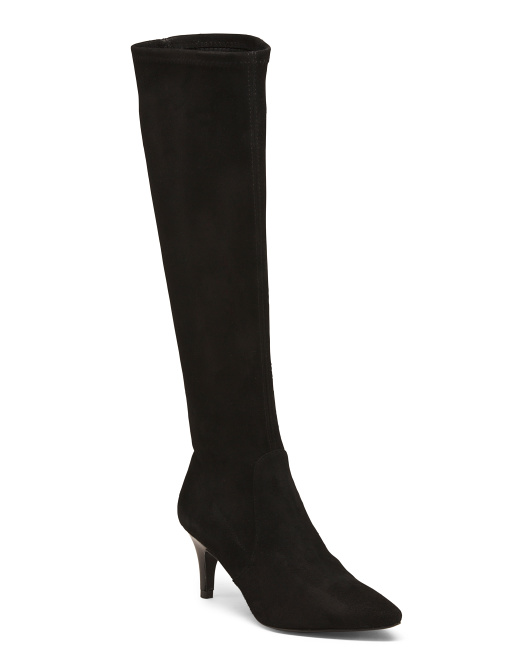 Made In Spain High Shaft Pointy Boots