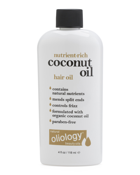 Hair Oil With Coconut