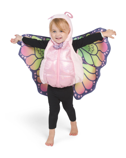 Baby Butterfly Plush Bubble Costume