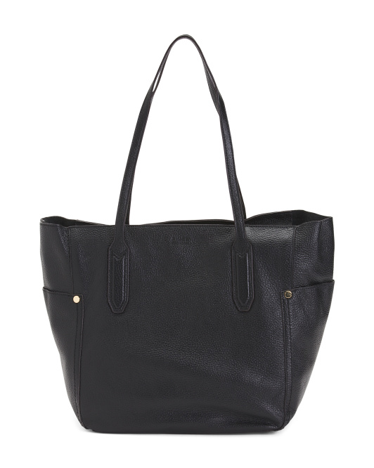 Madison Large Leather Tote