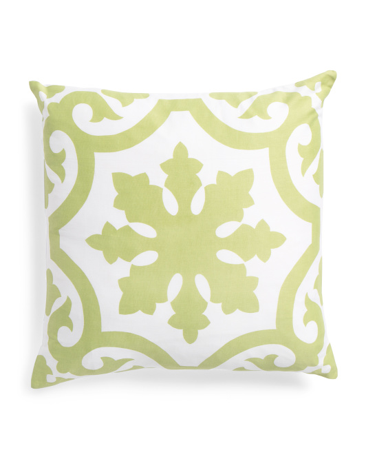 Made In India 18x18 Medallion Pillow