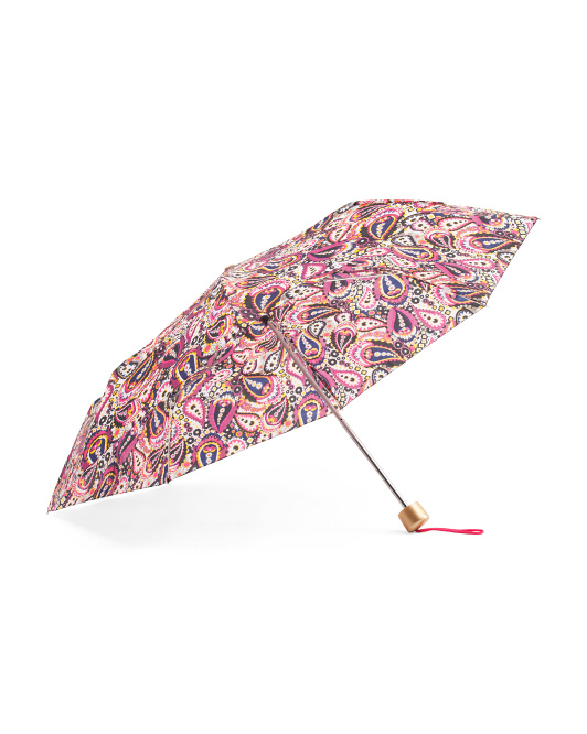 Printed Telescopic Manual Umbrella