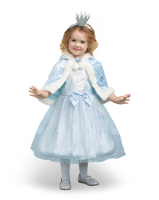 Toddler Hologram Queen Costume