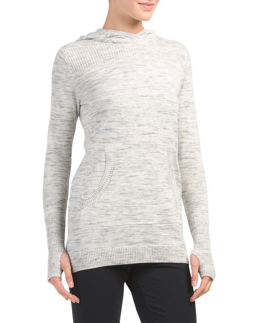 Active Hooded Pullover Sweater