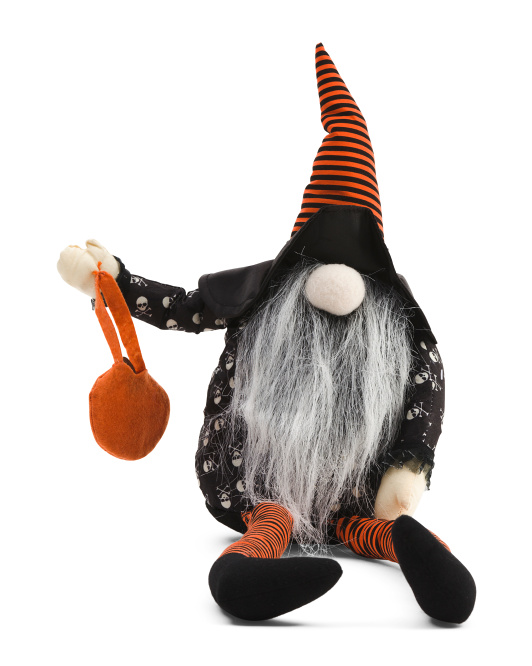 20in Gnome With Striped Hat