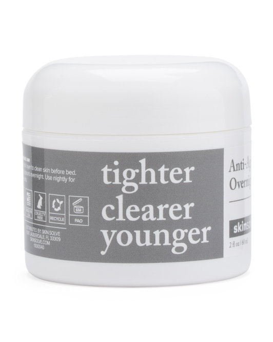 Anti-aging Charcoal Overnight Cream