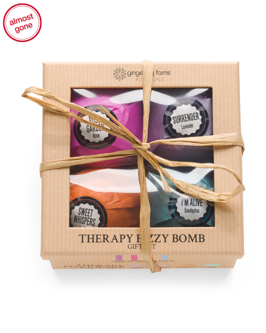 4pk Therapy Fizz Bombs