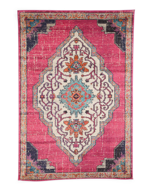Made In Turkey Medallion Area Rug