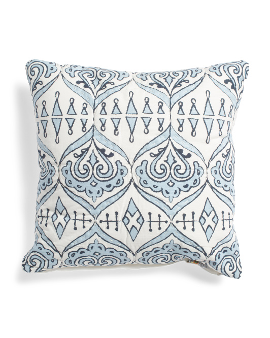 Made In India 20x20 Milano Boho Pillow