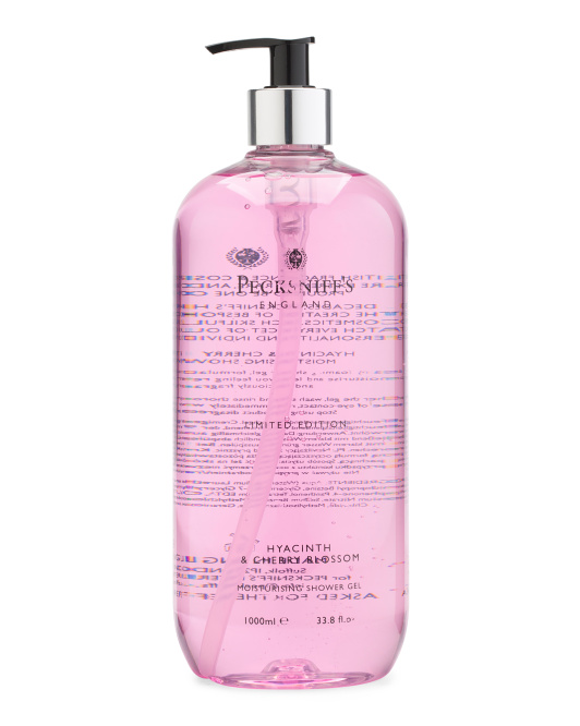 Hyacinth And Cherry Blossom Shower Gel