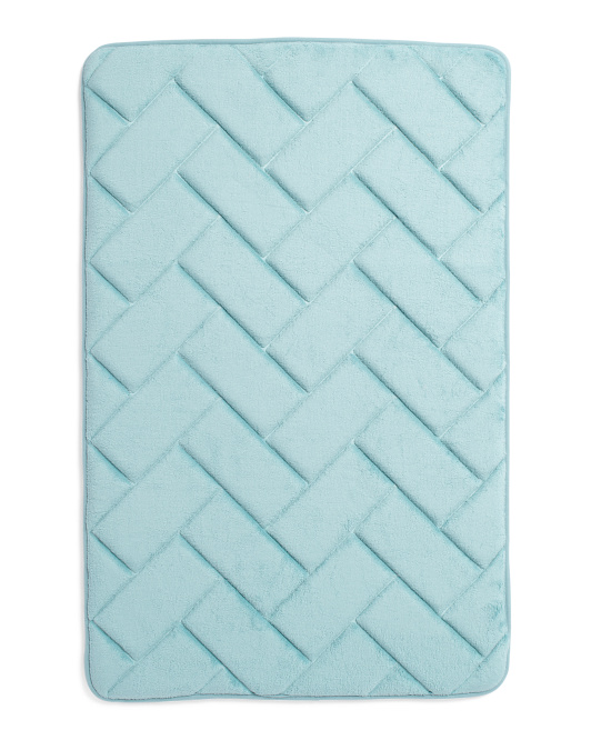 Pure Elements Gel Foam Bath Rug