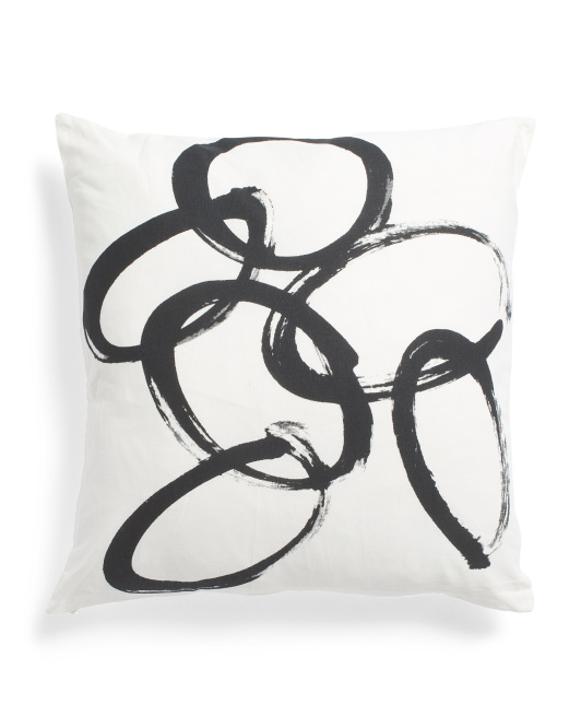 Made In India 20x20 Modern Art Pillow