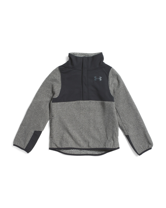 Girls Survivor Fleece Half Snap Top