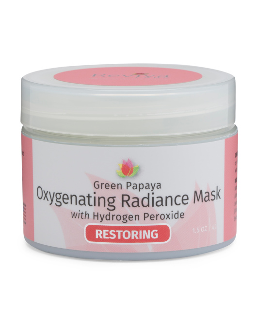 Papaya Oxygenating Radiance Mask