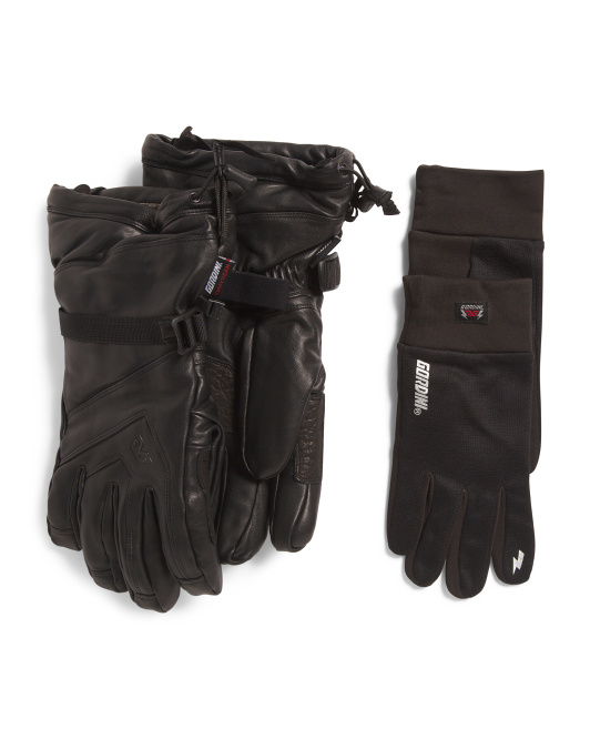 All Mountain Leather Gloves