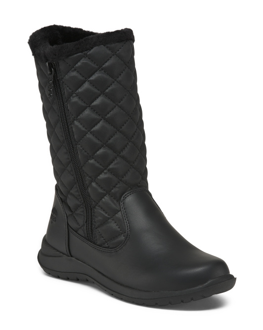Quilted Cold Weather Boots