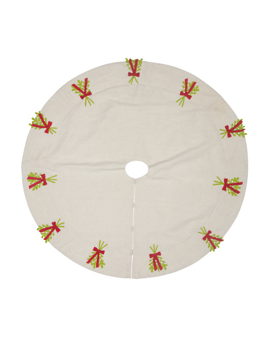 Mistletoe Tree Skirt