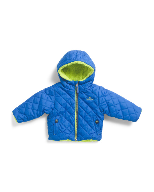 Infant Reversible Quilted Jacket