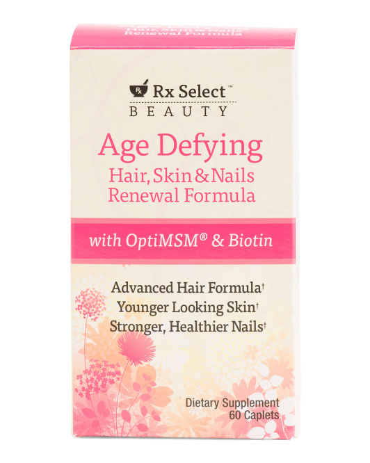 60ct Hair Nails Skin Supplements