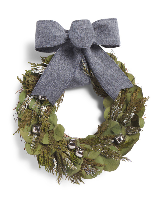 Natural Salal Bells Wreath