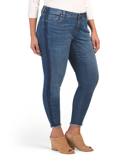 Plus Connie Skinny Ankle Jeans