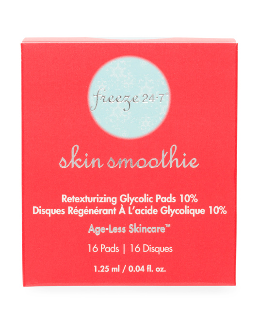 Skin Smoothie Glycolic Pads